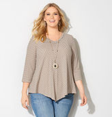 Avenue Mitered Asymmetrical Top