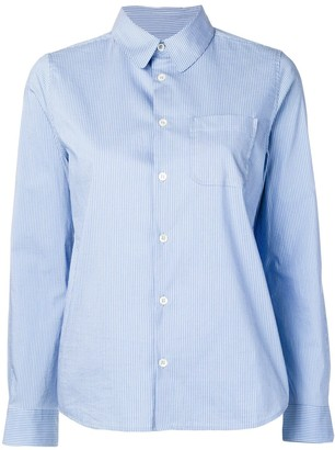 A.P.C. striped slim-fit shirt
