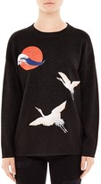 Sandro Faust Embellished Sweater