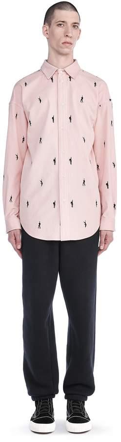 Alexander Wang Jersey Fleece Sweatpants