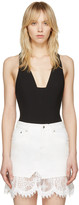 Rag & Bone Black Elle Bodysuit
