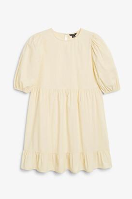 Monki Short flounce dress