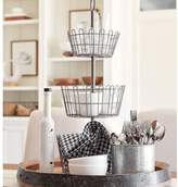 Pottery Barn Farmhouse Wire Tiered Stand
