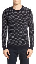 Scotch & Soda Polka Dot Crewneck Pullover