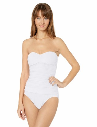 Gottex Women's Molded Cup Bandeau One Piece Swimsuit