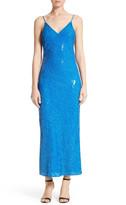 Diane von Furstenberg Havita Sequin Midi Dress