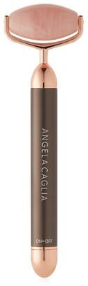 ANGELA CAGLIA Vibrating Rose Quartz Sculpting Roller