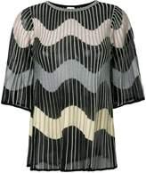 Missoni zig-zag knit top