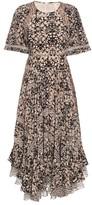 Rebecca Taylor Floral-print silk maxi dress