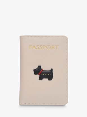 Radley Heritage Dog Leather Passport Cover