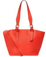 Dorothy Perkins Womens Red Oversized Knot Handle Tote Bag- Red