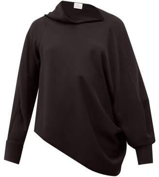 Hillier Bartley Pillowcase Asymmetric Crepe Blouse - Womens - Black