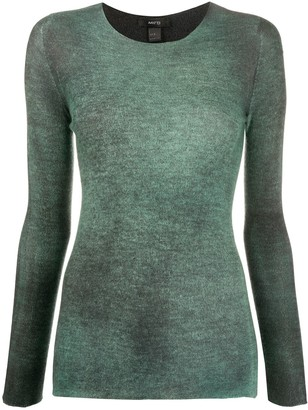 Avant Toi Long Sleeved Round Neck Jumper