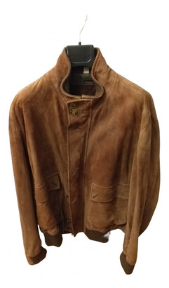 Burberry Brown Suede Jackets