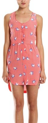 Cut 25 By Yigal Azrouel Cut 25 Star Print Mini Dress