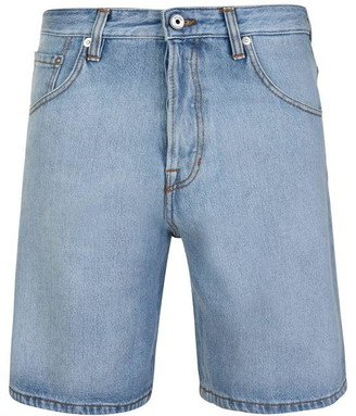 Just Cavalli Side Tape Denim Shorts