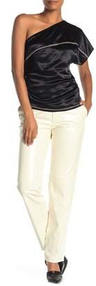 Helmut Lang Leather Suit Pant