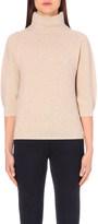 Max Mara Turtleneck wool and cashmere-blend jumper