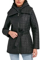 Thumbnail for your product : Dawn Levy Morgan Belted Quilted Coat