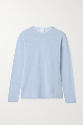 Max Mara Leisure Astice Wool Sweater - Light blue