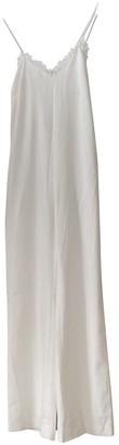Rime Arodaky White Cotton Jumpsuit for Women