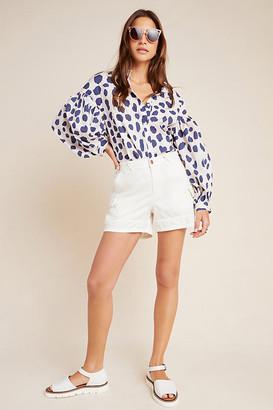 Stitch's Jeans Stephanie Utility Shorts By Stitch's in White Size XS