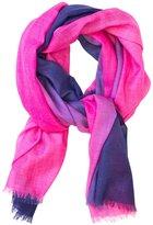 Jonathan Adler Dip Dye Superfine Wool Scarf - Fuchsia