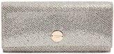 Jimmy Choo Fie Glitter Fabric & Leather Clutch