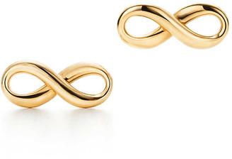 Tiffany & Co. & Co. Infinity earrings in 18k gold