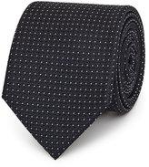 Reiss Liam Micro Dot Silk Tie