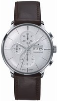 Junghans Meister Chronoscope 027/4120.01 40.7mm Automatic Stainless Steel Case Brown Calfskin Glass Men's Watch