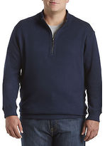 Rochester Reversible Quarter-Zip Pullover Casual Male XL Big & Tall