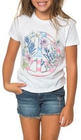 O'Neill Toddler Girl's Freedom Flowers Graphic Tee