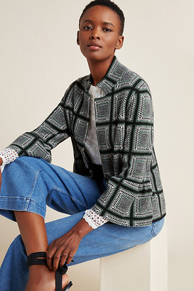 Anthropologie Kahla Mock Neck Sweater Jacket By in Assorted Size XS