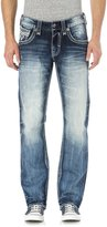 Rock Revival Mens Cyrek J201 Straight Jeans