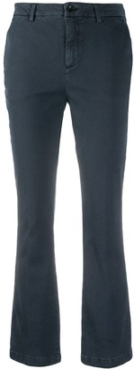 DEPARTMENT 5 Kick-Flare Cropped Trousers