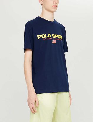 Polo Ralph Lauren print classic-fit cotton-jersey T-shirt