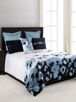 Kensie Blue Poppy Oversized & Overfilled Comforter Set