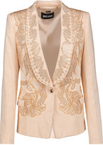 Just Cavalli Studded cady blazer