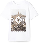 Zoo York White 'Zoo York' Squarley Tee - Boys