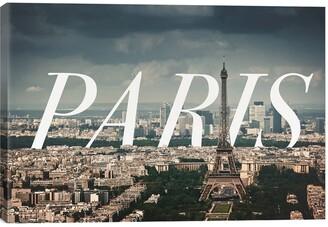 iCanvas 'Paris' Giclee Print Canvas Art