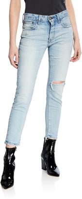 Moussy Vivian Mid-Rise Skinny Jeans