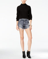 Joe's Jeans Bella Shredded Cotton Denim Shorts