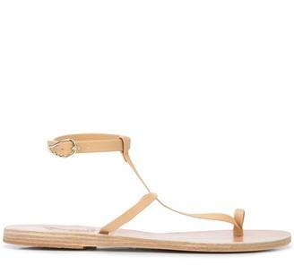Ancient Greek Sandals Anthi toe-ring sandals