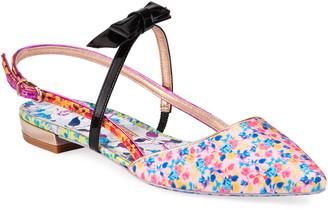 Sophia Webster Laurellie Floral Ballet Flats