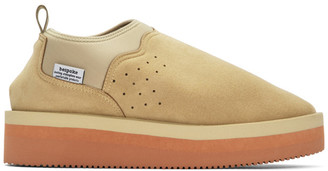 Fumito Ganryu Beige Suicoke Edition RON-VMGR-MID Loafers