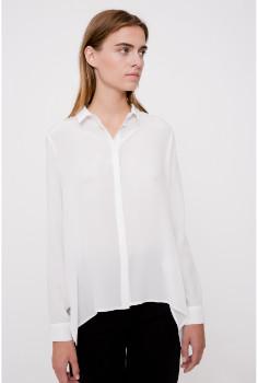 Margaux lonnberg - White Howard Shirt - 34   silk   white - White/White