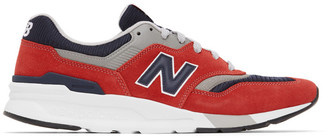 New Balance Red 997H Sneakers