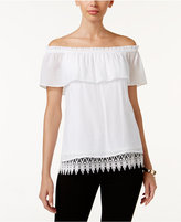 Thalia Sodi Off-The-Shoulder Peasant Top, Only at Macy's