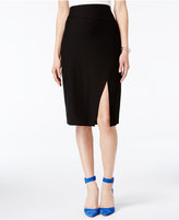 Bar III Front-Slit Pencil Skirt, Only at Macy's
